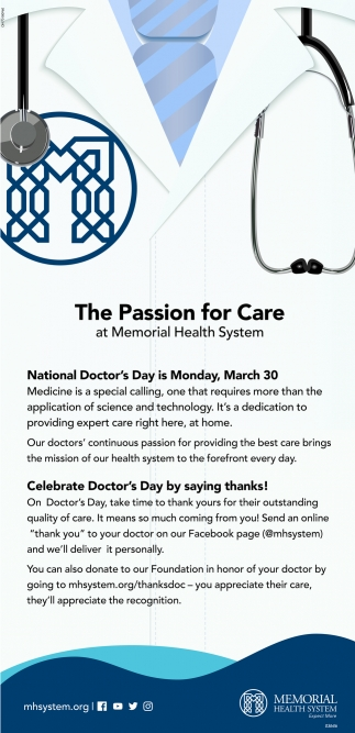 The Passion for Care