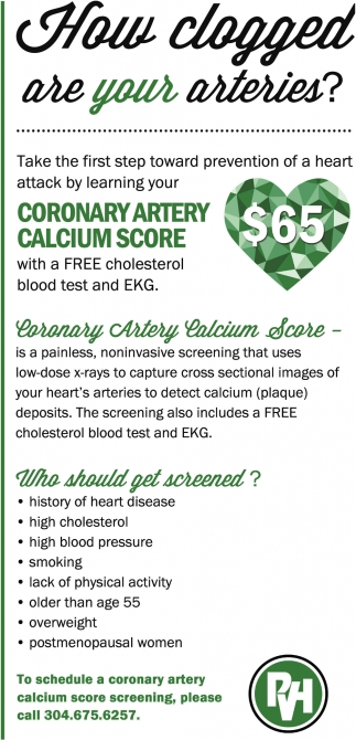 Coronary Artery Calcium Score