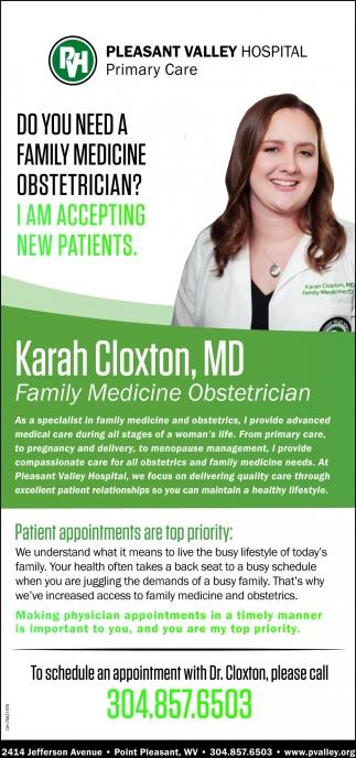 Karah Cloxton, MD