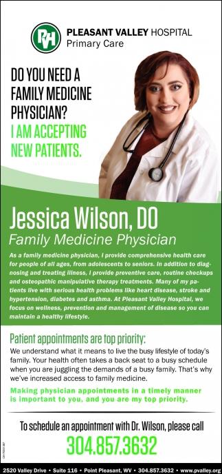 Jessica Wilson, DO