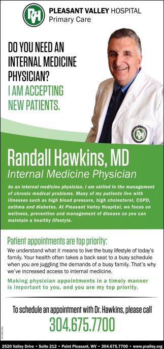Randall Hawkinds, MD