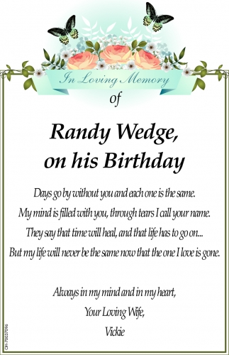Randy Wedge