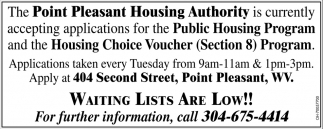 Public Housing Program, Housing Choice Voucher Program
