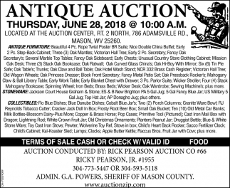 Antique Auction