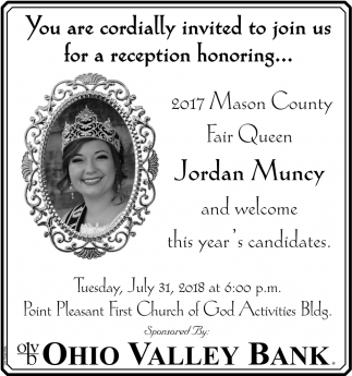 Mason County Fair Queen Pageant