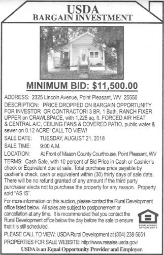 2325 Lincoln Avenue, Point Pleasant, WV
