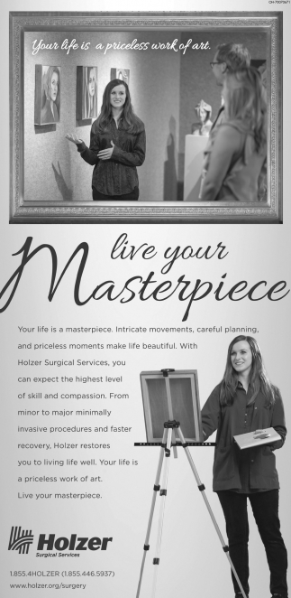 Live your Masterpiece