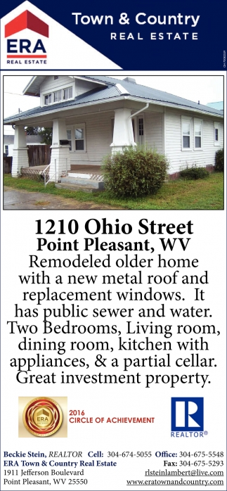 1210 Ohio Street, Point Pleasant, WV