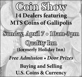 Coin Show, April 7
