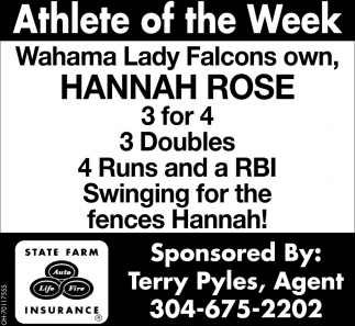 Hannah Rose - Athlete of the Week