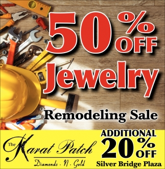 50 off Jewelry - Remodeling Sale