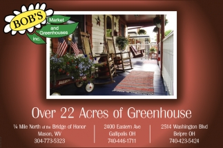 Over 22 Acres of Greenhouse