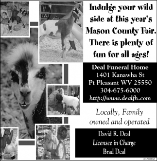 Indulge your wild side at this year's Mason County Fair