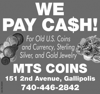 We pay cash!