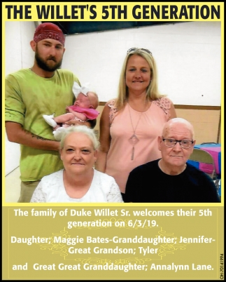 The Willet's 5th Generation