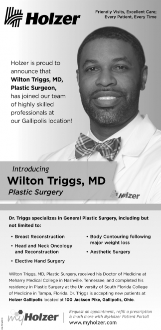 Introducing Wilton Triggs, MD / Plastic Surgery