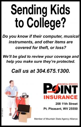 Sending Kids to College?