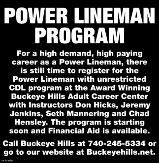 Power Lineman Program