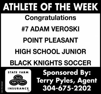 Adam Veroski  - Athlete of the Week