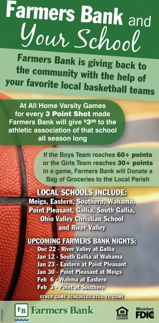 farmers bank and your school, farmers bank - point pleasant