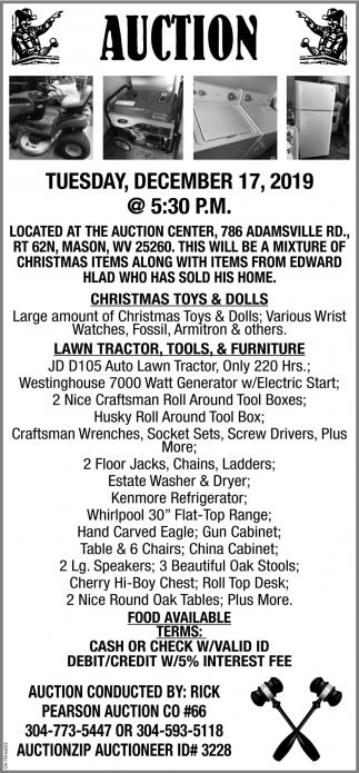 Auction - December 17
