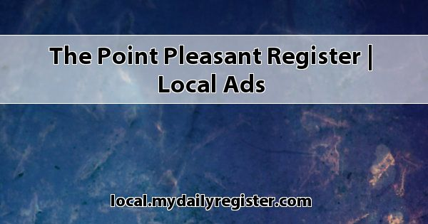 The Point Pleasant Register | Local Ads